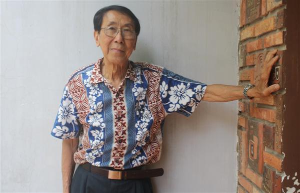 Lâm Hào tuổi 80, ảnh chụp tháng 3/2013. Ảnh: Như Hà (TheThaoVanHoa.vn)